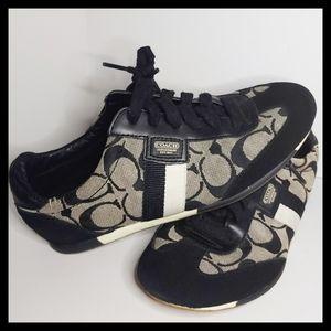 Coach Joss black sneakers 6